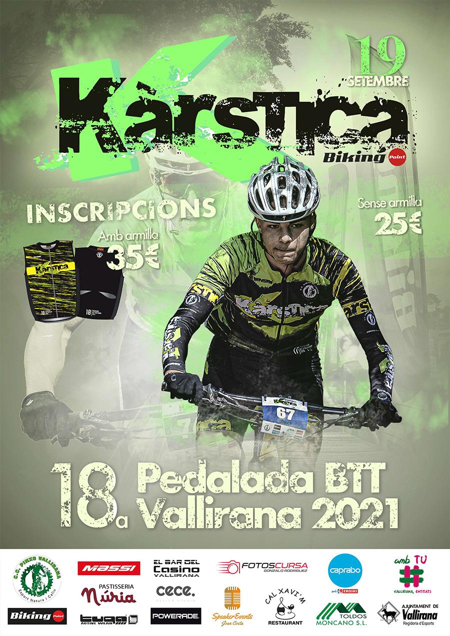 INSCRIPCIONS 18a Karstika BTT 2021
